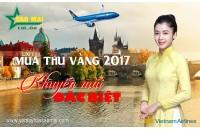 Vietnam Airlines khuyến mãi đặc biệt '' mùa thu vàng 2017 ''