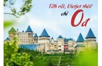 Săn vé 0 đồng các chặng bay quốc tế của Vietjet Air