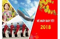 Các hãng hàng không đồng loạt mở bán vé máy bay Tết 2018