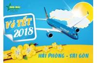 Vé máy bay Tết 2018 chặng Hải Phòng - Sài Gòn giá rẻ nhất