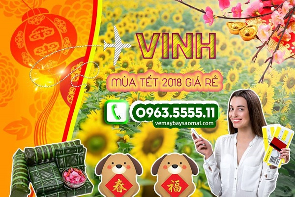 Ve may bay Tet 2018 di Vinh gia re