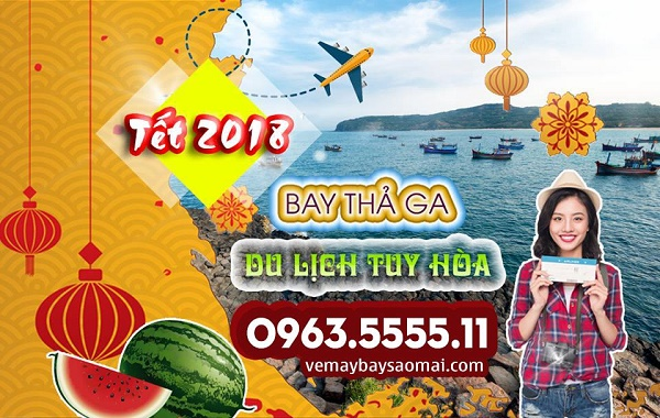 Ve may bay Tet 2018 di Tuy Hoa gia re