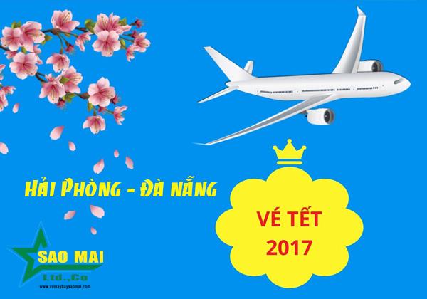 Vé máy bay Tết 2018 chặng Hải Phòng -  Đà Nẵng giá rẻ nhất
